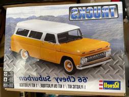 Revell 1/25 1966 Chevrolet Chevy Suburban PLASTIC MODEL KIT