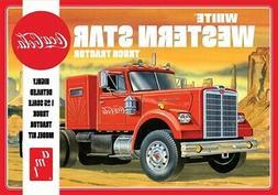 AMT 1/25 White Western Star Coca-Cola Semi Tractor Truck Mod