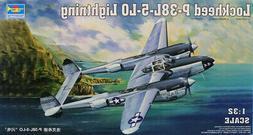 Trumpeter 1:32 Lockheed P-38L-5-LO Lightning Plastic Model K