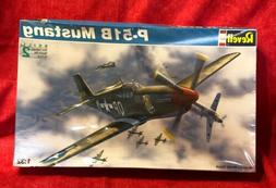 1/32 Monogram Revell P-51B Mustang Plastic Scale Model Airpl