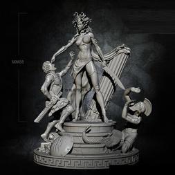 1/32 Resin Figure Model Kit Curse Princess Queen Medusa unpa