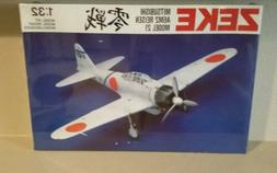 1/32 ZEKE Model 21 A6M2 Japanese Navy fighter by Swallow Sea