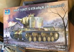 1/35 TRUMPETER #00367 GERMAN Pz.Kpfm KV-2 754 TANK parts are