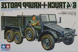 Tamiya 1:35 6x4 Truck Krupp Protze Plastic Model Kit #35104-