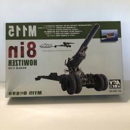 AFV Club 1/35 AF 35S-06 M115 8 Inch Howitzer with Metal Barr
