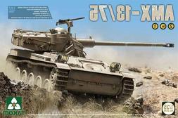 Takom Models 1/35 AMX-13/75 IDF Light Tank Plastic Model Kit