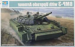 Trumpeter 1:35 BMP-3 With Upgrade Armour Plastic Model Kit #