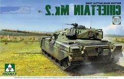 Takom 1:35 British Main Battle Tank Chieftain Mk.2 Plastic M