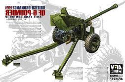 AFV Club 1/35 British QF Mk IV Anti-Tank Gun Plastic Model K
