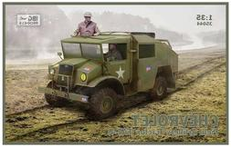 IBG Models 1/35 Chevrolet FAT4 Field Artillery Tractor Plast
