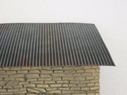1/35 corrugated board for diorama roof shelter trench model