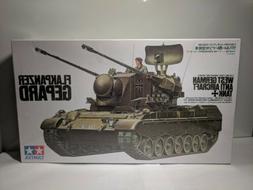 Tamiya 1:35 Flakpanzer Gepard German Anti Aircraft Tank Mode