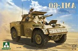 Takom 1:35 French Light Armoured Car AML-60 Plastic Model Ki