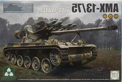 Takom 1:35 French Light Tank AMX-13/75 w/ SS-11 ATGM Plastic