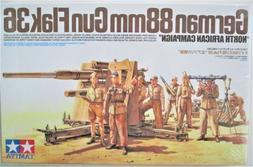 1/35 TAMIYA German 88mm Gun FLAK 36 North African Campaign #