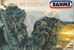 Emhar 1:35 German Infantry WWI  Plastic Model Kit 3503 EMH35