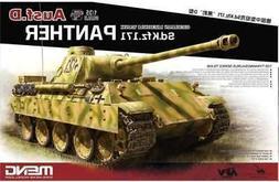 Meng 1:35 German Medium Tank Panther Ausf.D - Plastic Model
