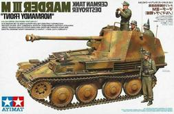 1/35 TAMIYA GERMAN TANK DESTROYER MARDER III M 'NORMANDY FRO
