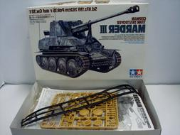 TAMIYA 1:35 German Tank Destroyer Marder III Model Kit - New