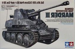 Tamiya 1:35 German Tank Destroyer Marder III 7.62cm Pak36 Ki