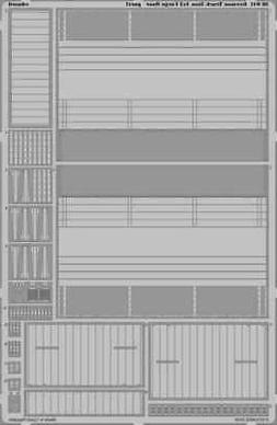 Eduard 1:35 German Truck 3ton 4x2 Cargo Floor for Tamiya - P