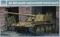 Trumpeter 1:35 Krupp/ Ardelt Waffentrager 88mm Pak-43 Plasti