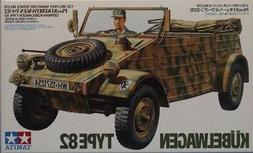 Tamiya 1:35 Kubelwagen Type 82 Plastic Model Kit #MM213 #352