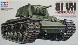 Tamiya 1:35 KV-1B Russian Tank Model 1940 w/ Applique Armor