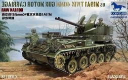 Bronco Models 1:35 M19A1 Twin 40mm Carriage Plastic Model Ki