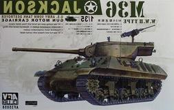 AFV Club 1:35 M36 Jackson US 90mm Tank Destroyer Gun Motor C
