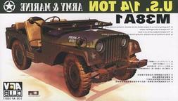 AFV Club 1:35 M38A1C Jeep Plastic Model Kit 35S17 AFV35S17