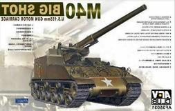 AFV Club 1/35 M40 Big Shot US 155mm Gun Plastic Model Kit 35