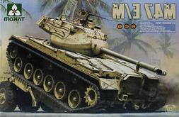 Takom 1:35 M47 E/M Patton US Medium Tank 2 in 1 Plastic Mode