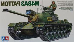 Tamiya 1:35 M48A3 Patton US Medium Tank Plastic Model Kit #M