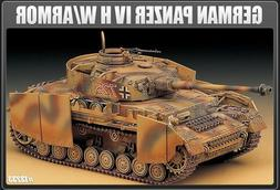 1/35 Panzer IV Aust. H With Armor Tank #13233 Academy Model