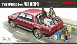 Meng 1:35  Pick Up With Equipment - Plastic Model Kit #VS002