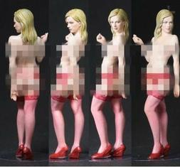 1/35 Resin Figure Model Kit Sexy Girl Female in Stockings Un
