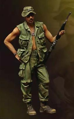 1/35 Resin Figure Model Kit Vietnam War US Soldiers Unpainte