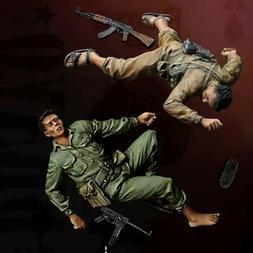 1/35 Resin Figure Model Kit Vietnam War Soldiers Unpainted U