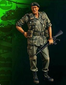 1/35 Resin Figure Model Kit Vietnam War US Soldier Unpainted