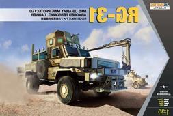 Kinetic Models 1:35 RG-31 Mk.5 USA Plastic Model Kit 61015 K