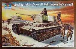 1/35 Russian KV-1 1942 Heavy Cast Turret Trumpeter #00359 Fa