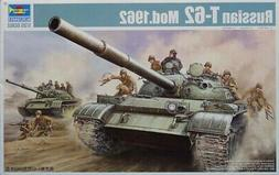 Trumpeter 1:35 Russian T-62 Mod.1962 Plastic Model Kit #0037