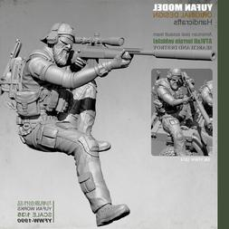 1/35 Scale ASST Soldier Resin Figure Model Kits Military War