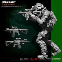 1/35 Scale ASST Soldier Resin Figure Model Kits Unpainted US