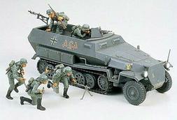Tamiya 1/35 Scale German Hanomag Sd.Kfz. 251/1 Plastic Model