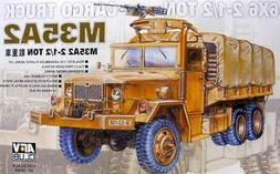 AFV Club 1/35 scale kit 35004, 6x6, 2 1/2 ton cargo truck M3