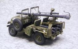 AFV Club 1:35 Scale M38 Recoiless Plastic Model Kit AF35S19