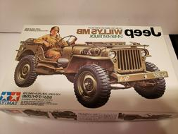 Tamiya 1/35 scale plastic model kit US WW2 Jeep