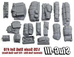 1/35 Scale StuG III/IV Deck Stowage Set #10  - Value Gear Re